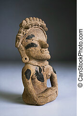 Pre Columbian Warrior. - Pre Columbian warrior made around...