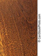 Pre-finished hardwood floor sample