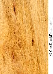 Pre-finished hardwood floor sample - Close up of prefinished...