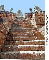 Pre Rup temple at Angkor - the Pre Rup temple at Angkor in...