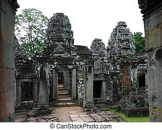 Preah Khan Temple. Angkor, Siem Reap. Cambodia.