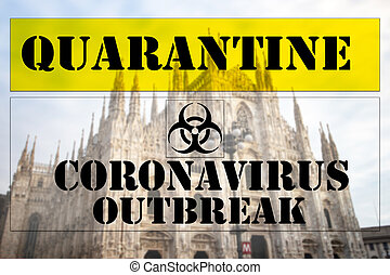 Precautionary security measures to counter the spread of Coronavirus in Italy.