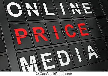 precio, aeropuerto, tabla, plano de fondo, concept:, ...