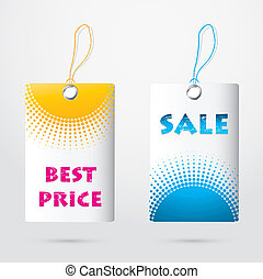 precio, especial, etiquetas