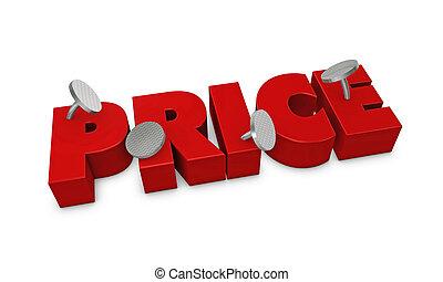 precio, fijo