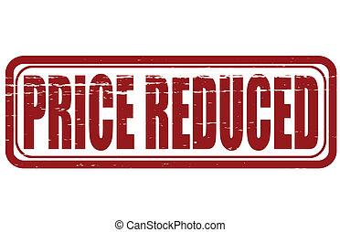 precio, reducido