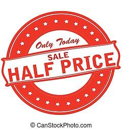 precio, venta, mitad