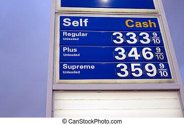 precios, gas