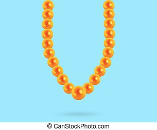 682bf16d8aee4 Broken pearl necklace and a chest. Broken pearl necklace in the ...