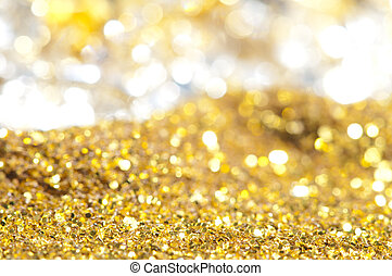 Precious treasure background. Gems and Gold