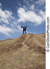 Precipice of success - Business concepts - business anywhere...