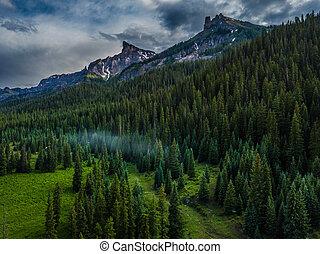 Precipice Peak and Dunsinane Mountain
