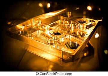 precision engineering parts as used in the avation industry