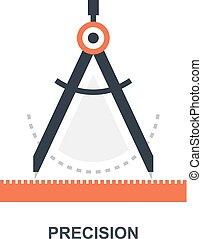 Precision icon concept