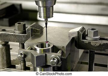 precision measurement by sensing head - Check measurement of...