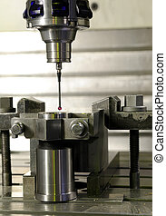 precision measurement by sensing head
