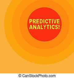 predictive, concepto, texto, analytics., escritura, significado, analysis., estadístico, escritura, pronóstico, perforanalysisce, método