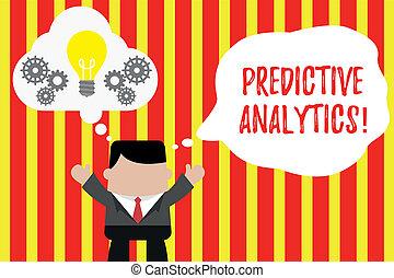predictive, foto, identificar, junto., trabalhando, escrita,...