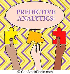 predictive, pessoas, foto, confunda pedaços, segurado,...