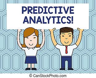 predictive, pessoas, foto, sinal, identificar, em branco,...