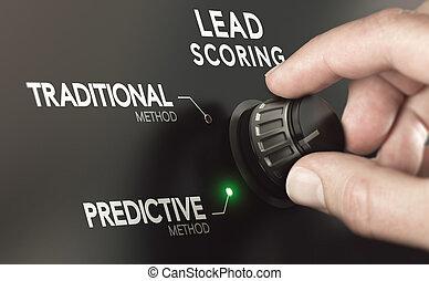 predictive, plomo, methodology., instead, tradicional,...