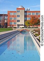 predios, campus universidade, vertical
