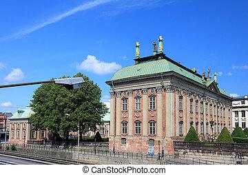 predios, estocolmo, sweden., riddarhuset