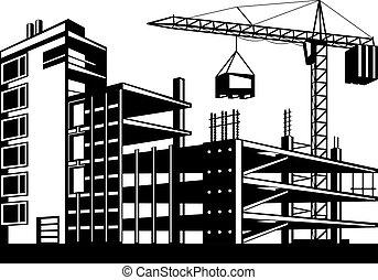 predios, fases, construção
