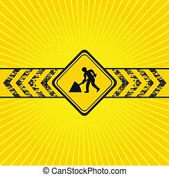 predios, fundo amarelo