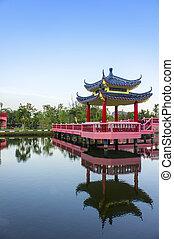 predios, histórico, chinês