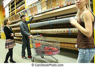predios, loja, par, materiais