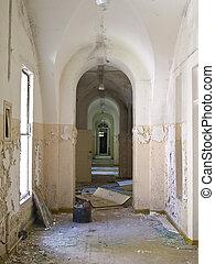 predios, ruína, antigas