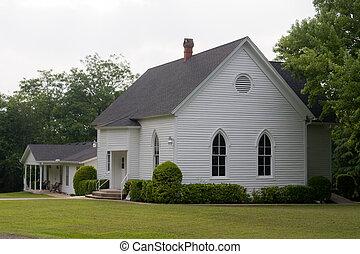 predios, rural, igreja