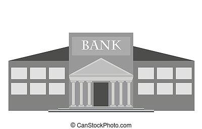 predios, vetorial, banco