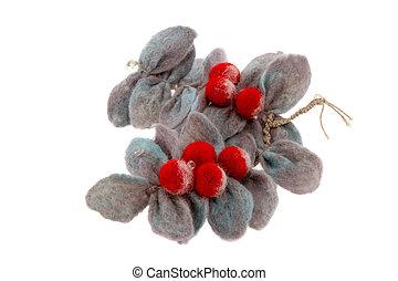 preestreno, ceniza, hecho, rama, lana, rojo