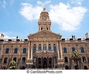 prefeitura, de, cidade do cabo, áfrica sul