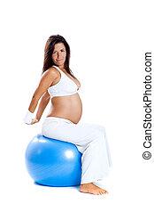 Pregnancy exercises