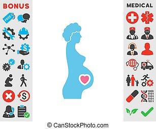 Pregnant Female Icon