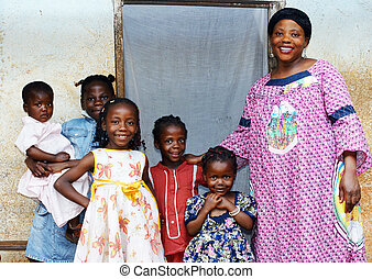 Pregnant mom and five daughters - Family with pregnant ...