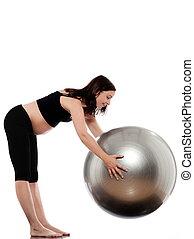 Pregnant Woman workout exercises