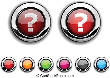 pregunta, button.