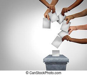 pregunta, comunidad, voto