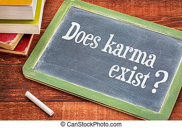 pregunta, exista, karma, pizarra