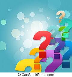 pregunta, hacer preguntas, marcas, frequently, preguntado,...