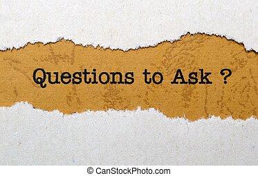 pregunte, preguntas