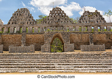 prehispanic town of Uxmal is a Unesco World Heritage site