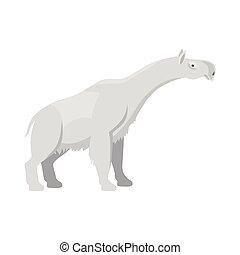 Prehistoric animal icon