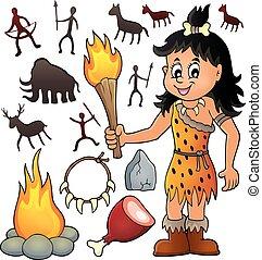 Prehistoric theme