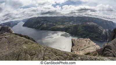 Preikestolen Time Lapse, Norway