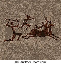 preistorico, caccia